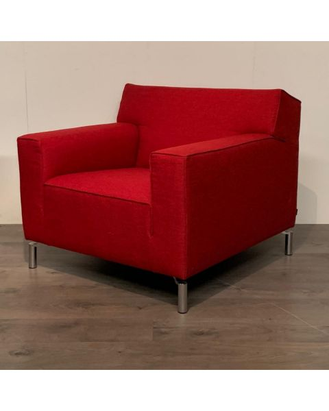 Fauteuil Rood Stof | Woonoutlet Wijchen