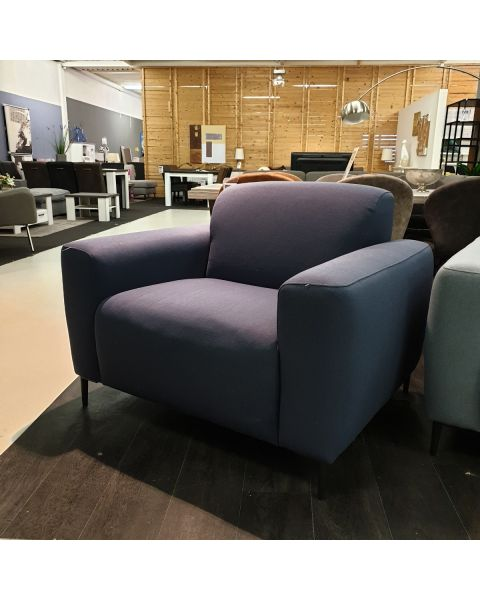 Fauteuil Stof Donkerblauw