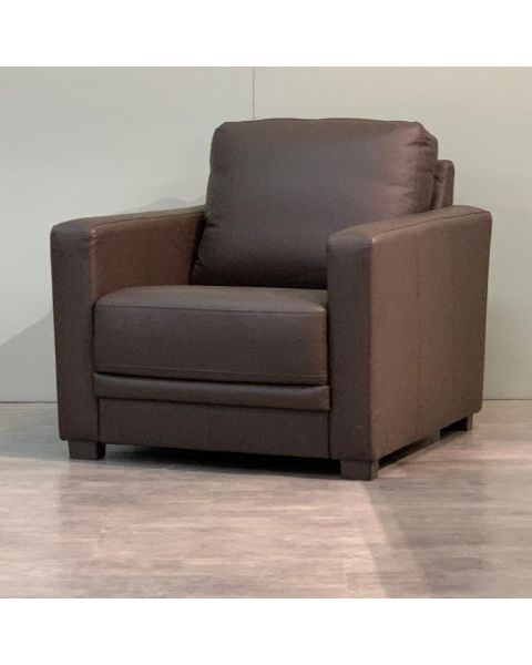 Fauteuil Leer Army | Woonoutlet
