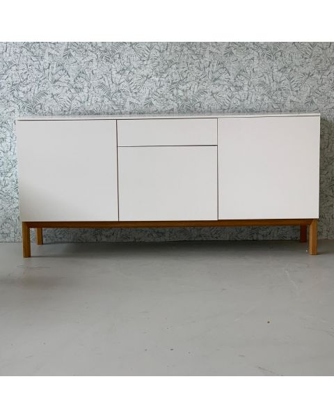 Dressoir Retro Wit