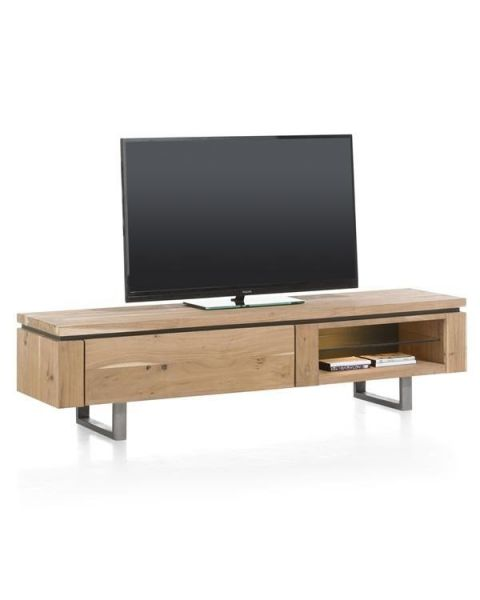 Ajezi TV-dressoir 1 Klep + 2 Niches 180cm (+ Led)