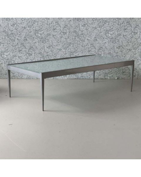 Salontafel Glas + Staal